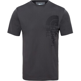 The North Face Ondras S/S Tee Men Asphalt Grey/TNF Black
